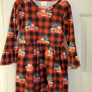 Boutique toddler Christmas dress 4t